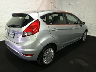 2013 Ford Fiesta WT CL PwrShift Silver 6 Speed Sports Automatic Dual Clutch Hatchback.