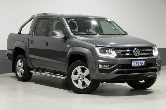 Used Volkswagen Amarok 2H MY17 V6 TDI 550 Highline, 2017 Volkswagen Amarok 2H MY17 V6 TDI 550 Highline Grey 8 Speed Automatic Dual Cab Utility