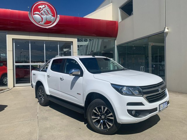 Demo Holden Colorado RG MY19 LTZ Pickup Crew Cab, 2019 Holden Colorado RG MY19 LTZ Pickup Crew Cab Summit White 6 Speed Sports Automatic Utility