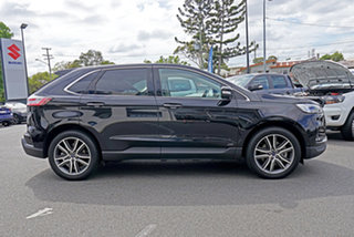 2018 Ford Endura CA 2019MY Titanium SelectShift AWD Black 8 Speed Sports Automatic Wagon