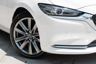2019 Mazda 6 GL1033 Atenza SKYACTIV-Drive White Pearl 6 Speed Sports Automatic Sedan.