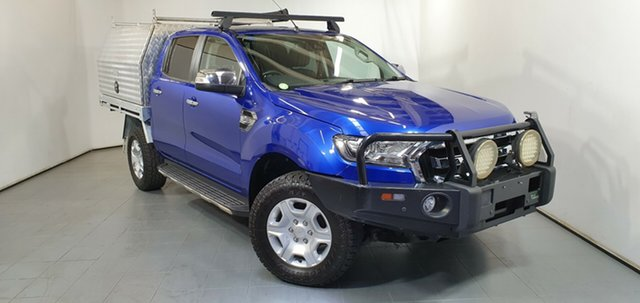 Used Ford Ranger PX MkII XLT Double Cab, 2015 Ford Ranger PX MkII XLT Double Cab Blue 6 Speed Sports Automatic Utility