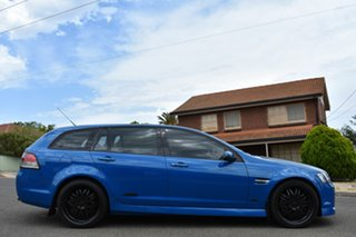 2013 Holden Commodore VE II MY12.5 SS Sportwagon Z Series Blue 6 Speed Sports Automatic Wagon.
