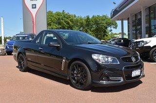 2013 Holden Ute VF MY14 SS V Ute Redline Black 6 Speed Manual Utility.