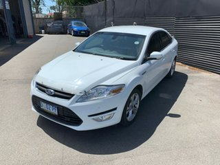 2013 Ford Mondeo MC Zetec PwrShift EcoBoost White 6 Speed Sports Automatic Dual Clutch Hatchback.