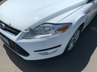 2013 Ford Mondeo MC Zetec PwrShift EcoBoost White 6 Speed Sports Automatic Dual Clutch Hatchback