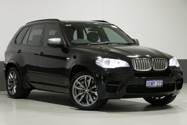 Used BMW X5 E70 MY12 Upgrade M50D, 2012 BMW X5 E70 MY12 Upgrade M50D Black 8 Speed Automatic Sequential Wagon