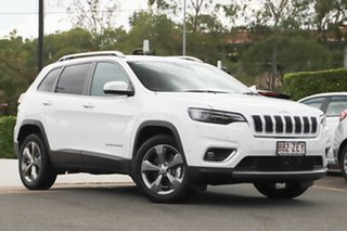 2019 Jeep Cherokee KL MY19 Limited Bright White 9 Speed Sports Automatic Wagon.