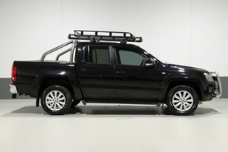 2012 Volkswagen Amarok 2H MY12 TDI400 Highline (4x4) Black 6 Speed Manual Dual Cab Utility