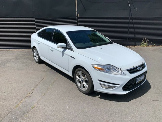 Used Ford Mondeo MC Zetec PwrShift EcoBoost, 2013 Ford Mondeo MC Zetec PwrShift EcoBoost White 6 Speed Sports Automatic Dual Clutch Hatchback