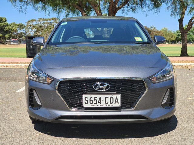 Demo Hyundai i30 PD2 MY19 Active, 2019 Hyundai i30 PD2 MY19 Active Iron Gray 6 Speed Sports Automatic Hatchback