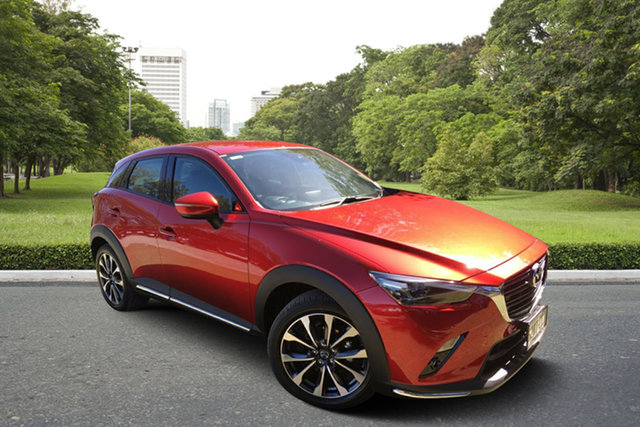 Demo Mazda CX-3 DK2W7A sTouring SKYACTIV-Drive FWD, 2019 Mazda CX-3 DK2W7A sTouring SKYACTIV-Drive FWD Soul Red 6 Speed Sports Automatic Wagon