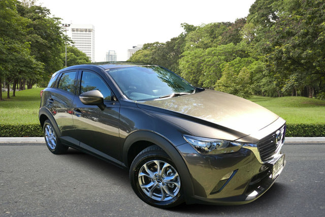 Demo Mazda CX-3 DK2W7A Maxx SKYACTIV-Drive FWD Sport, 2019 Mazda CX-3 DK2W7A Maxx SKYACTIV-Drive FWD Sport Titanium Flash 6 Speed Sports Automatic Wagon