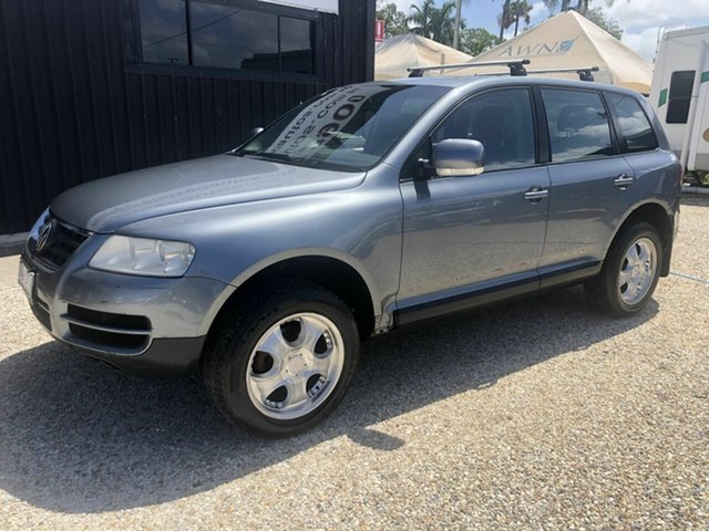 Used Volkswagen Touareg  , 2006 Volkswagen Touareg TDI 5cyl Grey 6 Speed Automatic Wagon