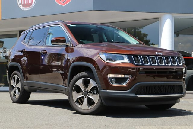 Used Jeep Compass M6 MY18 Limited, 2018 Jeep Compass M6 MY18 Limited Bronze Metallic 9 Speed Automatic Wagon