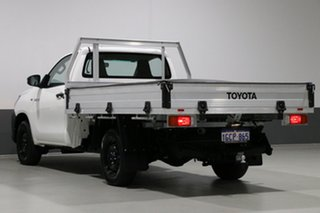 2016 Toyota Hilux TGN121R Workmate White 5 Speed Manual Cab Chassis