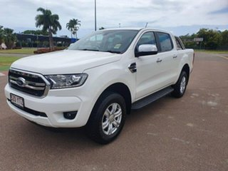 2019 Ford Ranger PX MkIII 2019.00MY XLT Pick-up Double Cab Arctic White 10 Speed Sports Automatic.