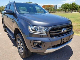 2019 Ford Ranger PX MkIII 2019.00MY Wildtrak Pick-up Double Cab Grey 10 Speed Sports Automatic.