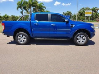 2019 Ford Ranger PX MkIII 2019.00MY XLT Pick-up Double Cab Lightning Blue 10 Speed Sports Automatic
