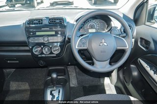 2019 Mitsubishi Mirage LA MY19 ES White 5 Speed Manual Hatchback