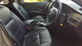 2004 BMW 5 Series E60 525i Steptronic Gold 6 Speed Sports Automatic Sedan