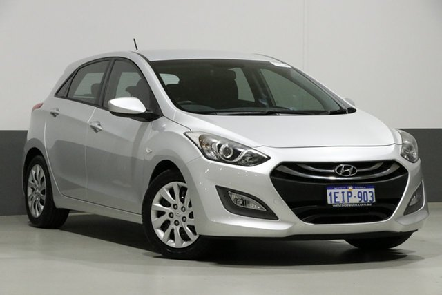 Used Hyundai i30 GD MY14 Active, 2013 Hyundai i30 GD MY14 Active Silver 6 Speed Automatic Hatchback