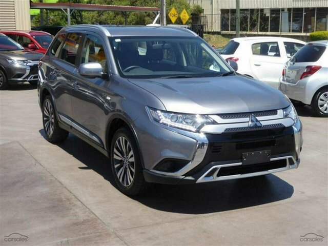 Demo Mitsubishi Outlander ZL MY20 ES 2WD, 2019 Mitsubishi Outlander ZL MY20 ES 2WD Titanium 6 Speed Constant Variable Wagon