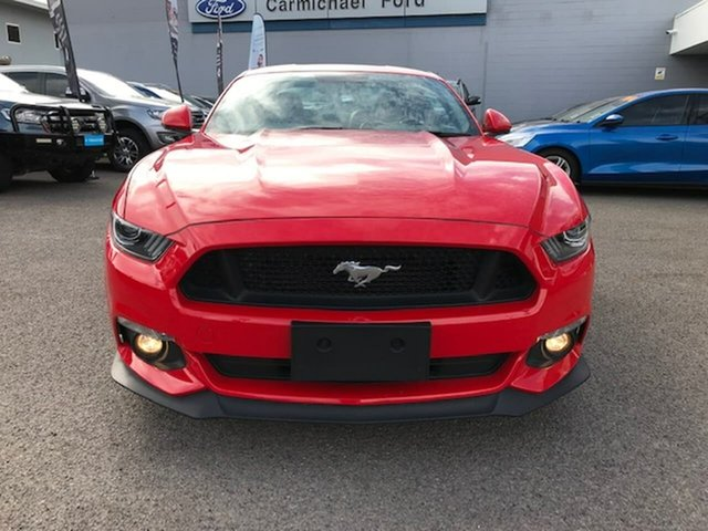 Used Ford Mustang FM 2017MY GT Fastback SelectShift, 2017 Ford Mustang FM 2017MY GT Fastback SelectShift Red 6 Speed Sports Automatic Fastback
