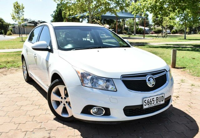 Used Holden Cruze JH Series II MY13 Equipe, 2013 Holden Cruze JH Series II MY13 Equipe White 6 Speed Sports Automatic Hatchback
