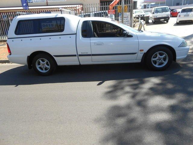 Used Ford Falcon AU II XL Ute Super Cab, 2001 Ford Falcon AU II XL Ute Super Cab White 4 Speed Automatic Utility