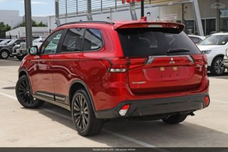 2019 Mitsubishi Outlander ZL MY20 Black Edition 2WD Red Diamond 6 Speed Constant Variable Wagon