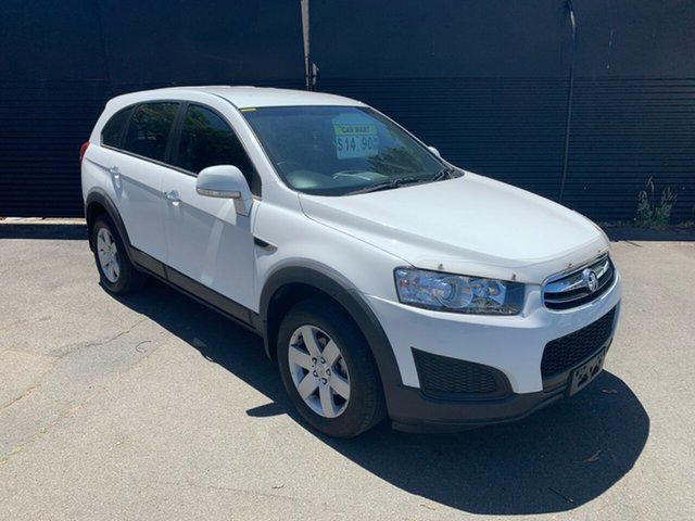 Used Holden Captiva CG MY15 7 LS, 2015 Holden Captiva CG MY15 7 LS White 6 Speed Sports Automatic Wagon