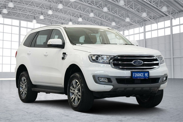 Used Ford Everest UA II 2019.00MY Trend 4WD, 2019 Ford Everest UA II 2019.00MY Trend 4WD White 10 Speed Sports Automatic Wagon