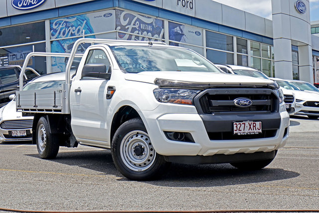 Used Ford Ranger PX MkII XL 4x2, 2017 Ford Ranger PX MkII XL 4x2 White 6 Speed Manual Cab Chassis