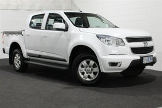 2015 Holden Colorado RG MY15 LT Crew Cab Summit White 6 Speed Sports Automatic Utility.