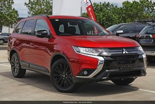 2019 Mitsubishi Outlander ZL MY20 Black Edition 2WD Red Diamond 6 Speed Constant Variable Wagon.