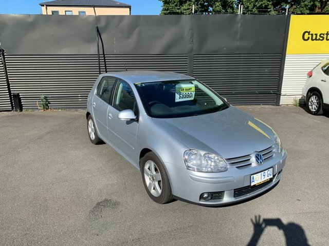 Used Volkswagen Golf V MY08 Pacific, 2008 Volkswagen Golf V MY08 Pacific Silver 6 Speed Manual Hatchback