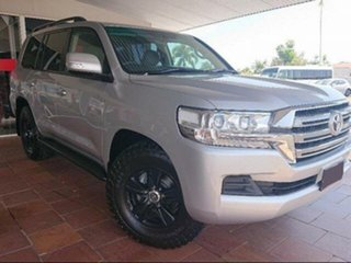 2015 Toyota Landcruiser VDJ200R MY16 GXL (4x4) Silver Pearl 6 Speed Automatic Wagon.
