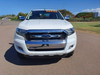 2018 Ford Ranger PX MkII 2018.00MY XLT Super Cab White 6 Speed Manual Utility.