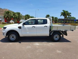 2019 Ford Ranger PX MkIII 2019.00MY XL Double Cab Arctic White 6 Speed Sports Automatic Cab Chassis