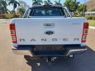 2018 Ford Ranger PX MkII 2018.00MY XLT Super Cab White 6 Speed Manual Utility