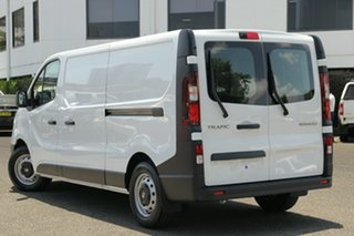 2020 Renault Trafic X82 MY21 Premium Low Roof LWB 103kW Glacier White 6 Speed Manual Van.