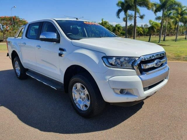 Used Ford Ranger PX MkII 2018.00MY XLT Super Cab, 2018 Ford Ranger PX MkII 2018.00MY XLT Super Cab White 6 Speed Manual Utility