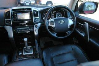 2012 Toyota Landcruiser VDJ200R MY12 VX Merlot Red 6 Speed Sports Automatic Wagon