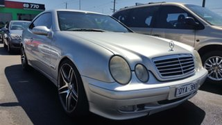 2001 Mercedes-Benz CLK-Class C208 CLK430 Avantgarde Silver 5 Speed Automatic Coupe.