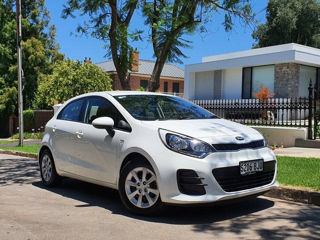 Used Kia Rio UB MY15 S, 2015 Kia Rio UB MY15 S White 4 Speed Sports Automatic Hatchback