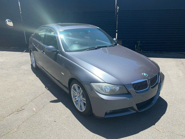 Used BMW 3 Series E90 325i Steptronic, 2007 BMW 3 Series E90 325i Steptronic Grey 6 Speed Sports Automatic Sedan