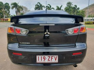 2017 Mitsubishi Lancer CF MY17 Black Edition Black 6 Speed Constant Variable Sedan