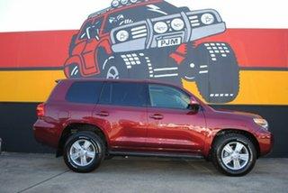 2012 Toyota Landcruiser VDJ200R MY12 VX Merlot Red 6 Speed Sports Automatic Wagon.