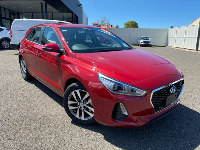 New Hyundai i30 PD2 MY19 Active, 2019 Hyundai i30 PD2 MY19 Active Red 6 Speed Sports Automatic Hatchback